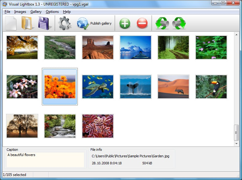 Visual Lightbox 1.9.0.4