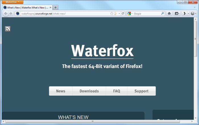 Waterfox 18.0.1